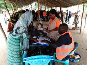 Apoio humanitário da Ajuda em Ação
