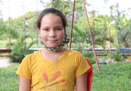 Carta de uma menina de 9 anos que tinha aulas virtuais sem Internet