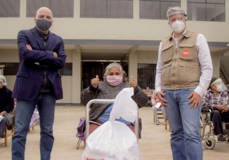 Ferrovial e a Ajuda em Ação apoiam 1000 famílias na luta contra a Covid-19