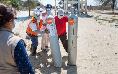 Na luta contra a Covid-19, promovemos o saneamento da água para milhares de famílias