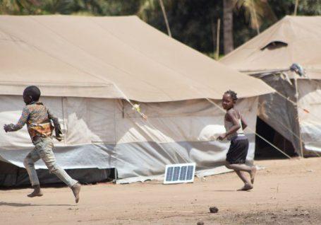 A violência em Cabo Delgado: o nosso trabalho com as pessoas deslocadas